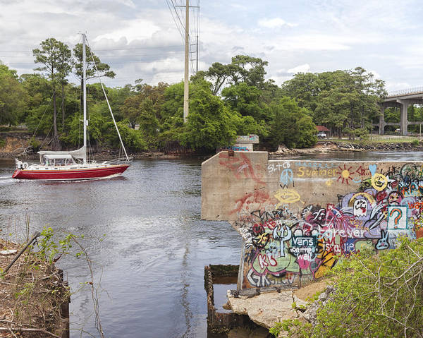 Photograph - Graffiti Bridge Image Art by Jo Ann Tomaselli