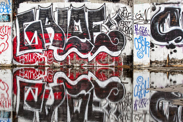 Wall Art - Photograph - Graffiti by Carol Leigh