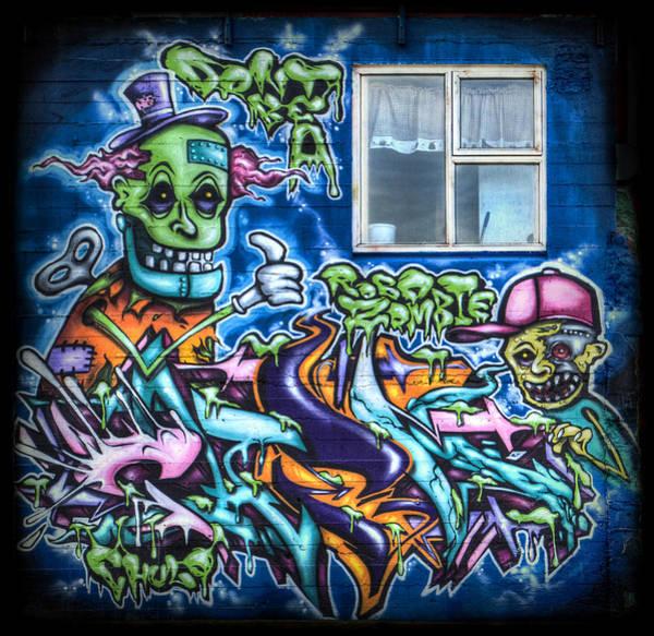 Wall Art - Photograph - Graffiti City by Evelina Kremsdorf