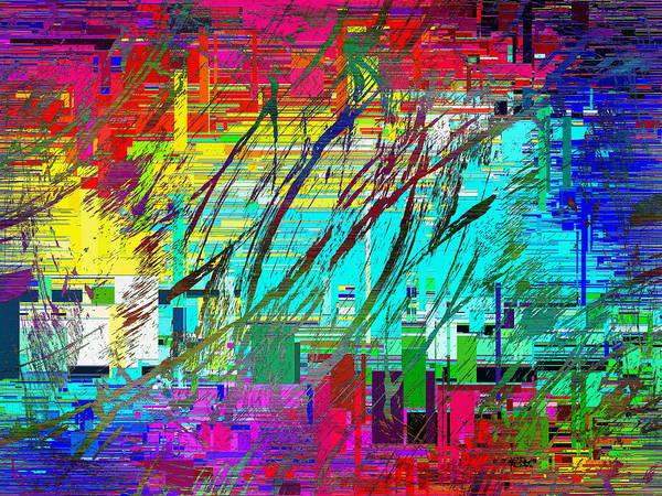 Wall Art - Digital Art - Graffiti Cubed 4 by Tim Allen