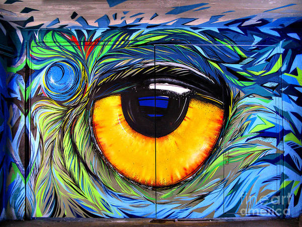 Photograph - Eye Graffiti  by Daliana Pacuraru