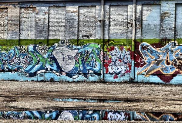 Paint Chips Photograph - Graffiti by Dan Sproul