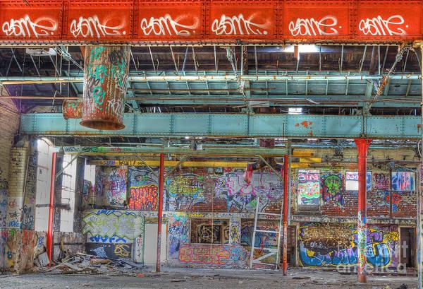 Photograph - Graffiti Gallery by David Birchall