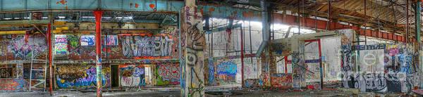 Photograph - Graffiti Heaven Panorama by David Birchall