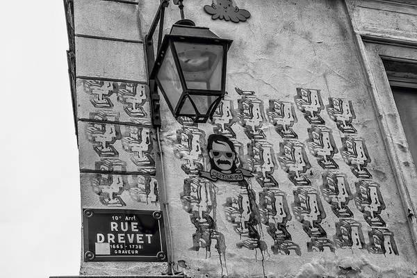 Wall Art - Photograph - Graffiti On Rue Drevet by Georgia Fowler