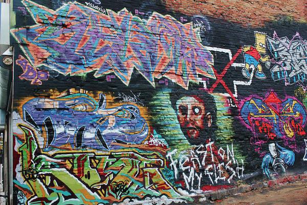 Photograph - Graffiti Series 01 by Carlos Diaz
