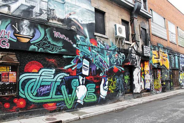 Photograph - Graffiti Series 02 by Carlos Diaz