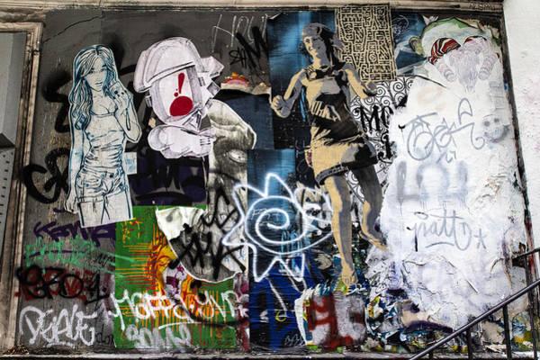 Wall Art - Photograph - Graffiti Wall by Georgia Fowler