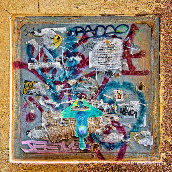 Urban Decay Wall Art - Photograph - Graffitis by Delphimages Photo Creations