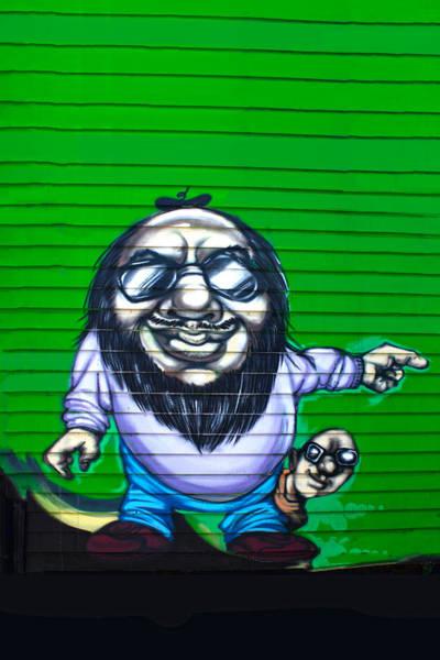 Photograph - Graffiti Series 03 by Carlos Diaz