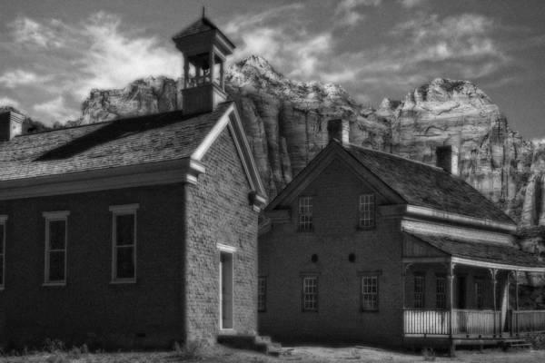 Pioneer School Photograph - Grafton Ghost Town Utah by Douglas Pulsipher