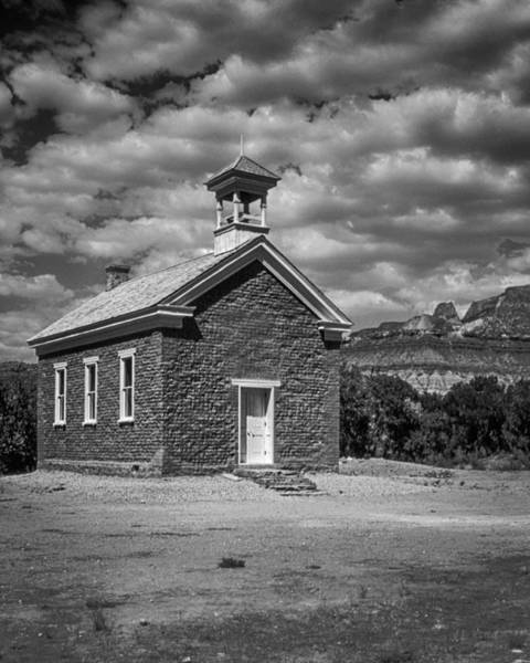 Schoolhouse Photograph - Grafton Schoolhouse by Medicine Tree Studios