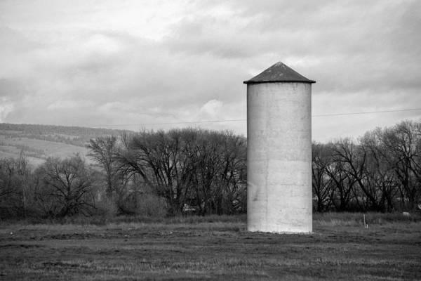 Kittitas County Wall Art - Photograph - Grain Silo - Ellensburg - Washington by Steve G Bisig