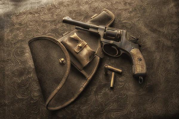 Antique Firearms Wall Art - Photograph - Grammas Gun by Susan Capuano