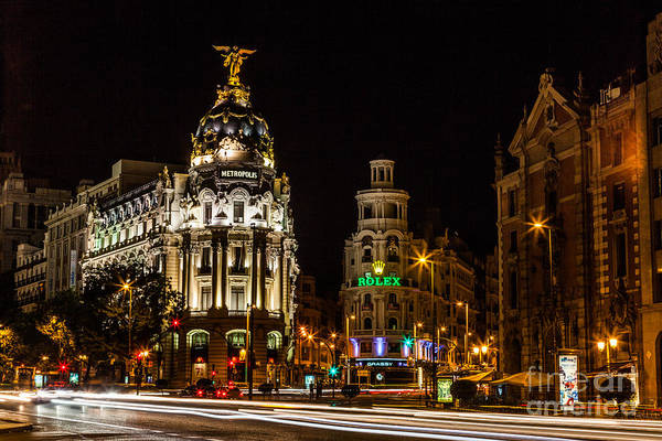 Wall Art - Photograph - Gran Via by Eugenio Moya