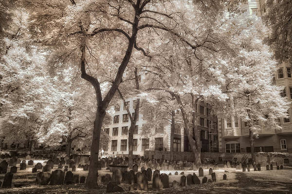 Photograph - Granary Burying Ground - Boston by Joann Vitali