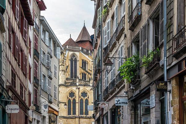 Pyrenees Photograph - Grand Bayonne Quarter Looking Towards by Izzet Keribar