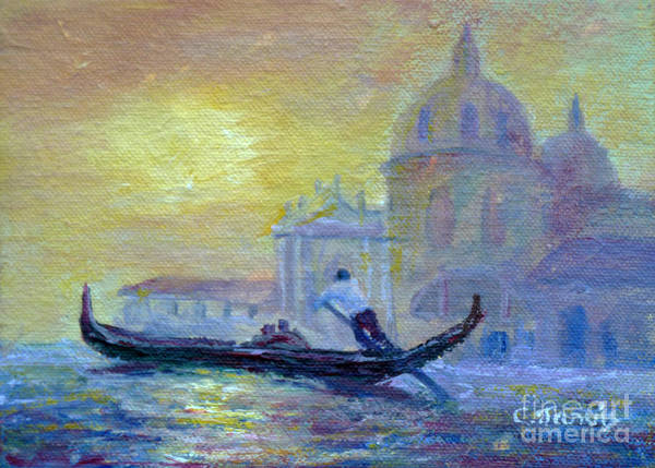 Painting - Grand Canal by Carolyn Jarvis