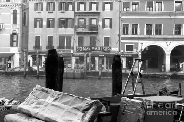 Wall Art - Photograph - Grand Canal Morning by John Rizzuto