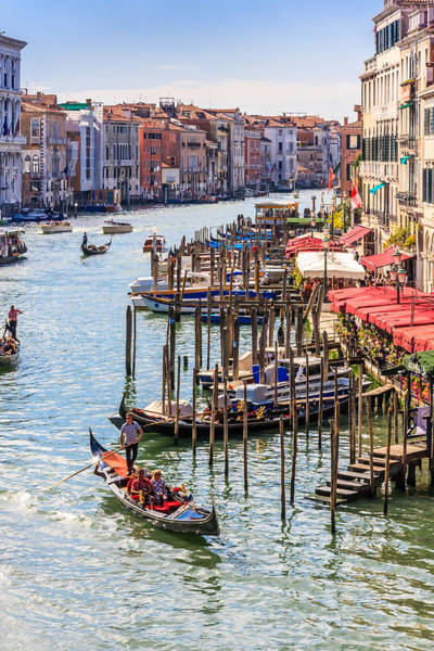 Photograph - Grand Canal, Venice by Susan Leonard
