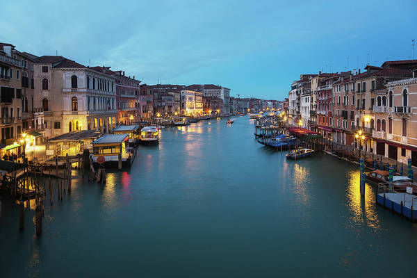 Grand Hotel Photograph - Grand Canal, Venice by Alle12