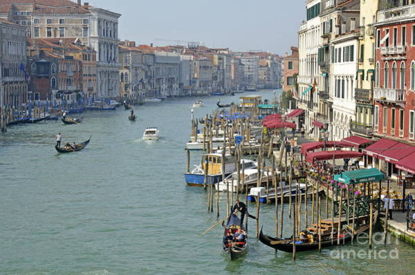 Wall Art - Photograph - Grand Canal Viewed From Rialto Bridge by Sami Sarkis