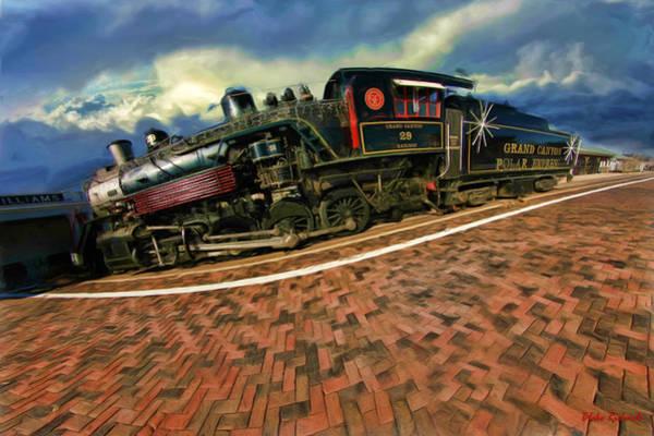 Photograph - Grand Canyon 29 Railway by Blake Richards