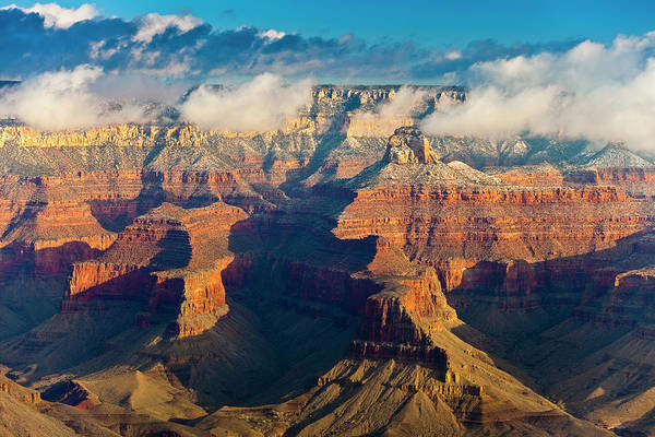 Mather Point Photograph - Grand Canyon And North Rim From Mather by Richard I'anson