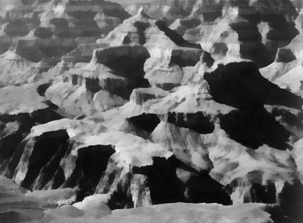Digital Art - Grand Canyon by Ansel Adams