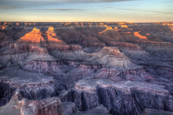 Photograph - Grand Canyon At Sunset by Pierre Leclerc Photography