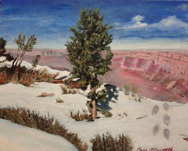 Painting - Grand Canyon by Cassy Allsworth