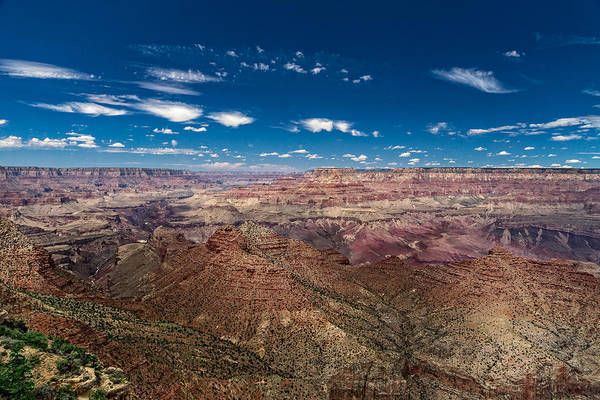Photograph - Grand Canyon From Desert View Watchtower by Chris Bordeleau