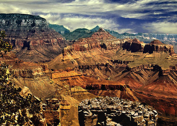 Photograph - Grand Canyon Lipan Point by Bob and Nadine Johnston