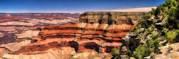 Painting - Grand Canyon Mesa Panorama by Christopher Arndt