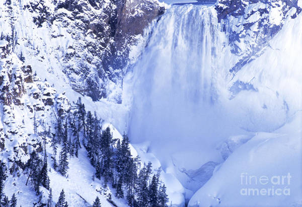 Photograph - Grand Canyon Of The Yellowstone Yellowstone National Park Wyoming by Dave Welling