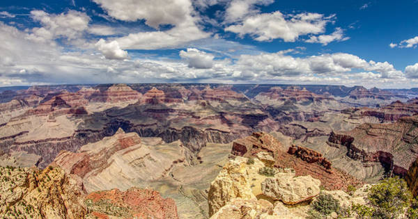 Photograph - Grand Canyon Panoramic View by Pierre Leclerc Photography