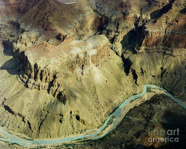 Photograph - Grand Canyon  Plus The Colorado River by M K Miller