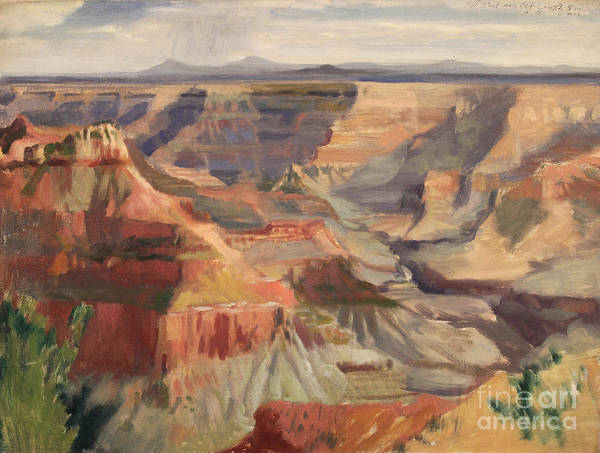 Grand Canyon- Point Sublime 1947 Art Print