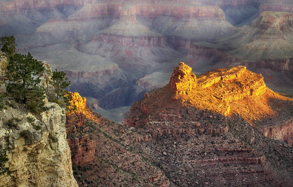Photograph - Grand Canyon Sun Rise by Michael Hope