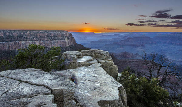 Photograph - Grand Canyon  Sunset by William Bitman