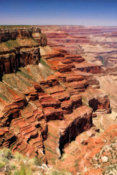 Painting - Grand Canyon National Park Valley Depths by Christopher Arndt