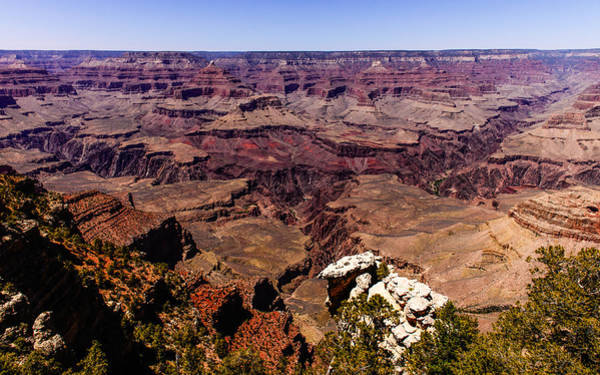 Photograph - Grand Canyon South Rim East by John Johnson