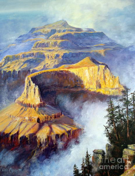 Wall Art - Painting - Grand Canyon View by Lee Piper