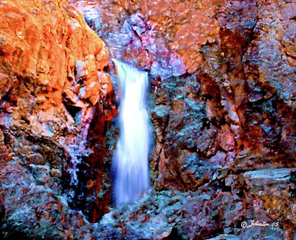 Photograph - Grand Canyon Waterfall by Bob and Nadine Johnston