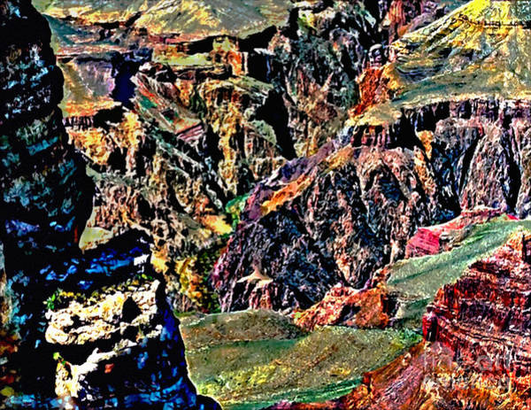 Painting - Grand Canyon Yaki Viewpoint by Bob and Nadine Johnston