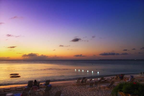 Photograph - Grand Cayman Sunset by Lars Lentz