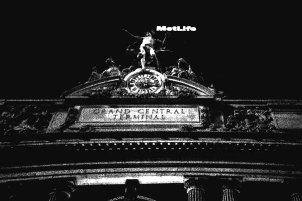 Photograph - Grand Central And Metlife by Joann Vitali