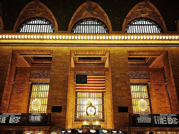 Photograph - Grand Central by Natasha Marco