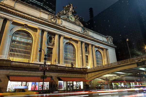 Public Places Wall Art - Photograph - Grand Central Nights by Marcaux