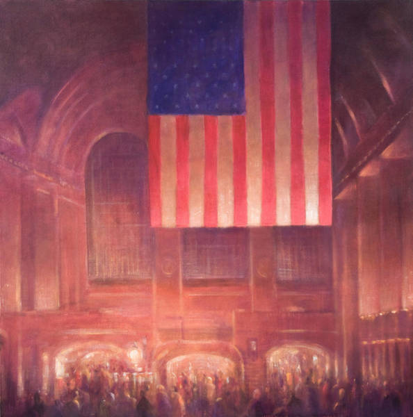 Commuter Rail Wall Art - Painting - Grand Central Station by Lincoln Seligman
